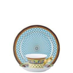 Piatto + Tazza Tè RUSSIAN DREAM Rosenthal Versace 25 ANNI