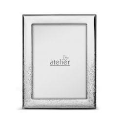 Portafoto linea Gravel argentato - Atelier