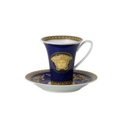 Tazzina caffè alta MEDUSA BLU Rosenthal Versace