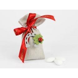 Saccoccino confetti decoro bomboniera laurea