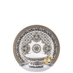 Piatto + Tazza Tè MARQUETERIE Rosenthal Versace 25 ANNI