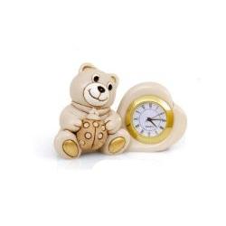 Bomboniera orologio orsetto nascita battesimo - Memory 2016