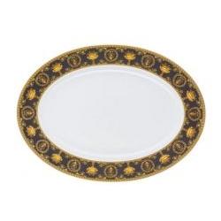 Piatto ovale da portata I LOVE BAROQUE cm.34 Rosenthal Versace