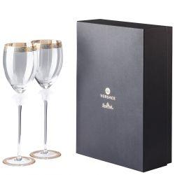 Set 2 Calici Acqua MEDUSA D'OR Rosenthal Versace