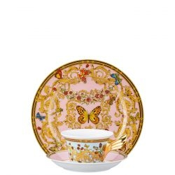 Piatto + Tazza Tè LE JARDIN DE VERSACE Rosenthal Versace 25 ANNI