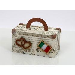 Portaconfetti valigia piccola