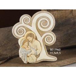 Pannellino Albero con Sacra Famiglia Vergine
