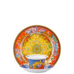 Piatto + Tazza Tè PRIMAVERA Rosenthal Versace 25 ANNI