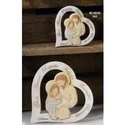 Pannello Cuore Sacra Famiglia Gretel