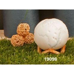 Lampada led sfera con Mappamondo