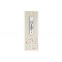 Termometro verticale rettangolare