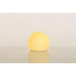 Lampada led sfera lavorata in porcellana - BOMBONIERE SOLIDALI