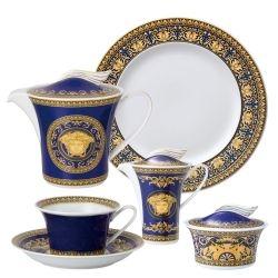 Servizio Tè MEDUSA BLU 21 pz Rosenthal Versace