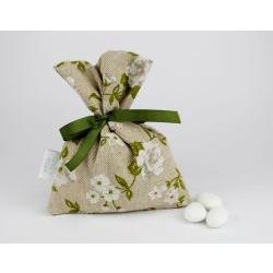 Sacchettino porta confetti verde linea VENEZIA - x Matrimonio / prima comunione