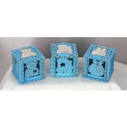 Scatolina porta confetti 5x5 baby