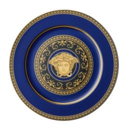 Piatto segnaposto MEDUSA BLU Rosenthal 30 cm Versace