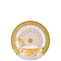 Piatto + Tazza Tè LES REVES BYZAINTINS Rosenthal Versace 25 ANNI