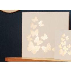 Pannello in legno retroilluminato con Farfalle