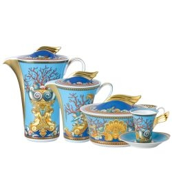 Servizio caffè 21 pz LES TRESORS DE LA MER Rosenthal Versace I tesori del mare