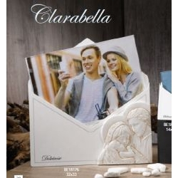 Portafoto a forma di lettera con Sacra Famiglia Clarabella