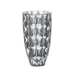 Vaso in cristallo Diamond 28 cm