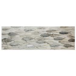 Quadro acrilico su tela 50x150 - L'Oca Nera