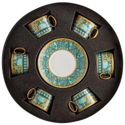 Set 6 Tazze Te' LA SCALA DEL PALAZZO Rosenthal Versace