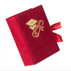 Scatolina portaconfetti libro Laurea