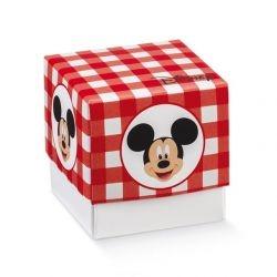 Scatolina portaconfetti Disney Mickey's Party Rosso