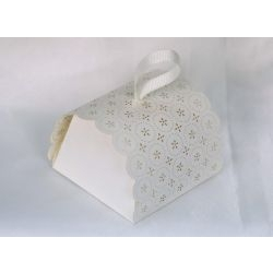 Scatolina portaconfetti torta