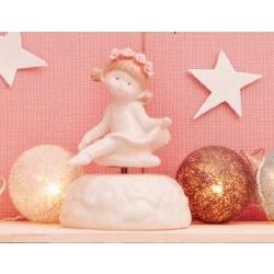 Carillon Bimba ballerina in porcellana