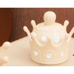 Lampada Corona in porcellana