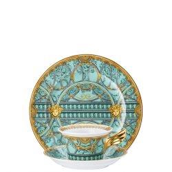 Piatto + Tazza Tè LA SCALA DEL PALAZZO Rosenthal Versace 25 ANNI