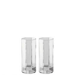 Set 2 Bicchieri LongDrink MEDUSA LUMIERE Rosenthal Versace