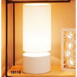 Lampada cilindro base porcellana