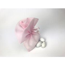 Sacchetto portaconfetti velato rosa