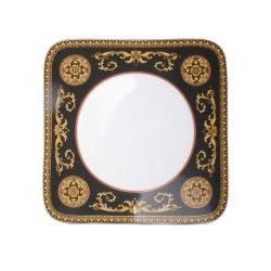 Piatto quadrato MEDUSA ROSSA 27 cm Rosenthal Versace