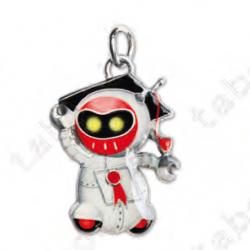 Ciondolo robot - Bomboniera laurea