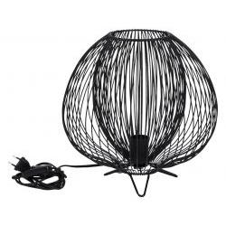Lampada da tavolo in metallo verniciato - L'OCA NERA