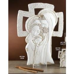 Croce con Sacra Famiglia Gloria
