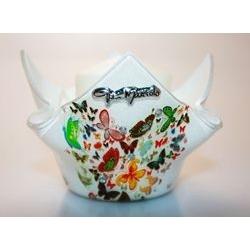 Portacandela in vetro butterfly - 8cm - Gai Mattiolo