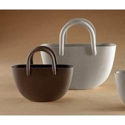 Vaso con manici in gres porcellanato - Linea Sette