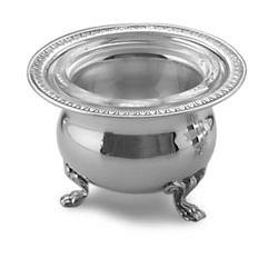 Salino impero in argento e cristallo