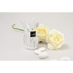 Vasetto in cristallo - bomboniere prestigiose