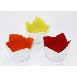 Candeliere colori assortiti - porcellana