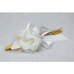 Rosellina in lino con cannucce di bamboo