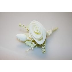 Addobbi - Pick rosa con conchiglie