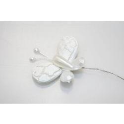 Addobbi - Farfalla in plex bianca