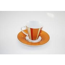 Tazza da caffè con decori geometrici