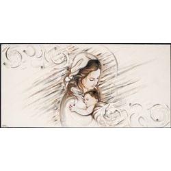 Tela - Capezzale madonna con bambino